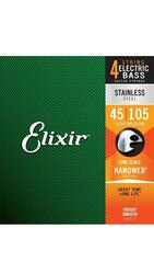 Elixir - Electric Bass Strings  NANOWEB COATING ** UDSOLGT**