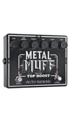 Electro Harmonix - Metal Muff with Top Boost