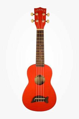 Kala Ukulele - Sopran - Apple red  - Inkl taske