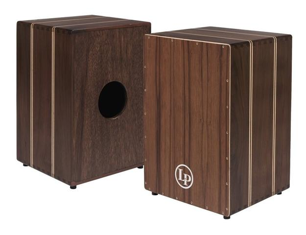 Latin Percussion - Cajon Peruvian Solid Walnut
