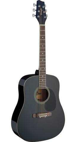 Stagg Western-guitar - Black dreadnought