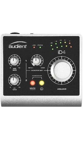 Audient iD4 2in/2out - Lydkort