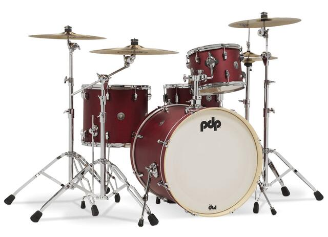 PDP by DW Shell set Spectrum Series - 2 tammer