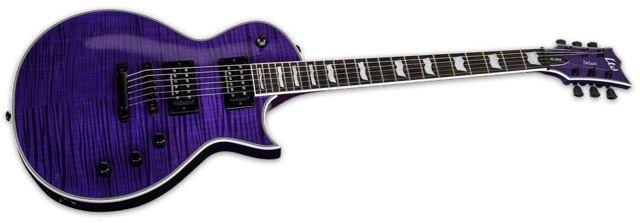 ESP - LTD EC-1000 - See Thru Purple