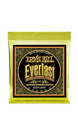 Ernie Ball Everlast 80/20 Bronze Extra Light 10-50