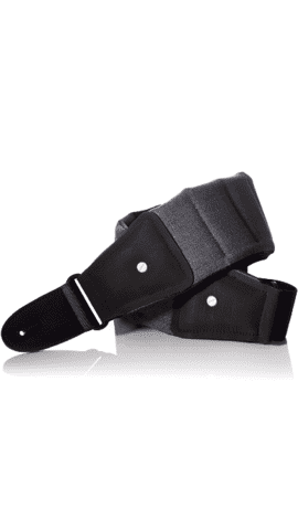 MONO - Guitar / bass strap, short, grey
