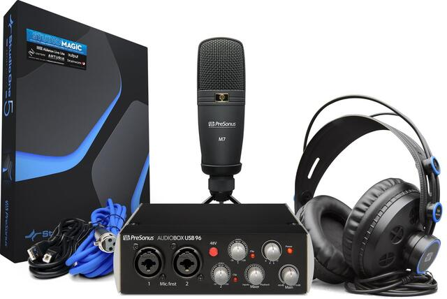 PreSonus - AudioBox 96 Studio 25th Ann Edition - Bundle