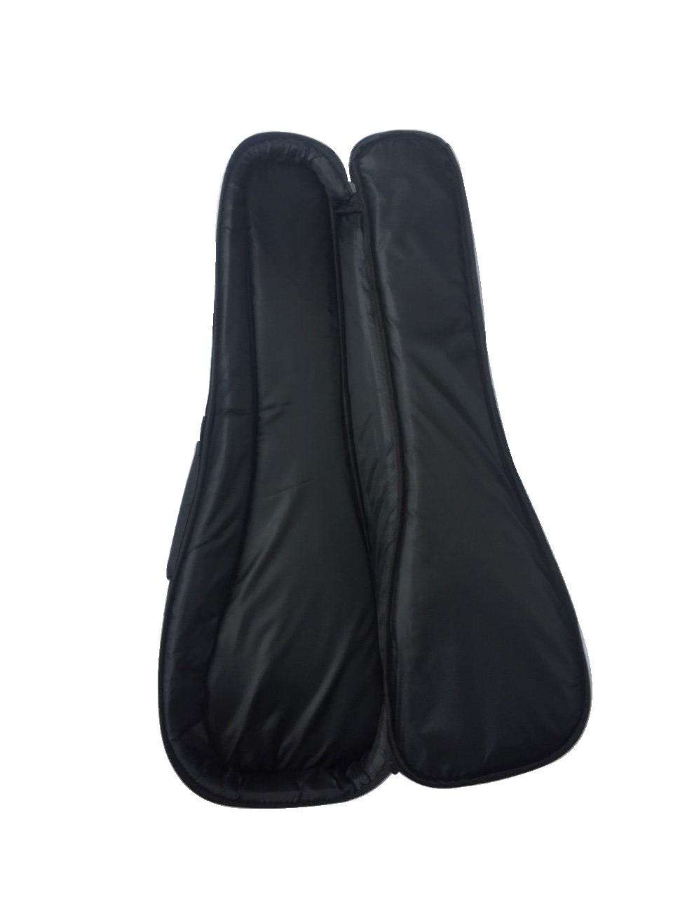 Kahula Kvalitets Taske til Koncert Ukulele 15 mm polster