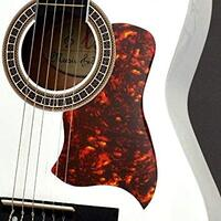 Pickguard - Hummingbird Shape - Red