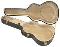 Guitar hard case - Retro brun - western